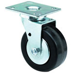 E.R. Wagner Medium-Heavy Duty Rigid Caster, 6 1/2""