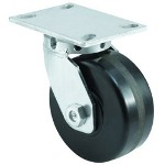 "E.R. Wagner 10x2-1/2"" Kingpinless Swivel Caster"