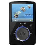 Sandisk Sansa Fuze Digital Player / Radio
