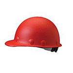 Fibre-Metal Roughneck P2 Series Protective Caps with High Heat Protection, 8 Pt Ratchet, Red