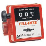 "Fill-Rite 3/4"" in-line Flow Meter"