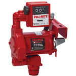 Fill-Rite 115V AC HD TRANSFER PUMPW/METER