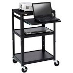 Bretford A2642NS-M5 Adjustable Projector Cart