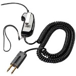 Plantronics SHS 1890 - PTT (push-to-talk) Headset Adapter