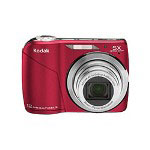 Eastman Kodak Film EASYSHARE C190 Digital Camera - Red