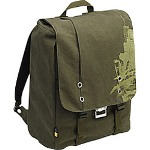 "Caselogic SNBP-17 GREEN 17"" Canvas Backpack - Notebook Carrying Backpack"