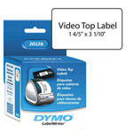 Dymo VHS Top Video Tape Labels