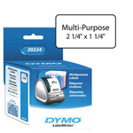 "Dymo Label, Dymo White 2-1/4"" X 1-1/4"""