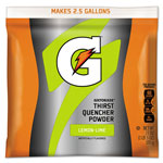 Gatorade Sports Drink Powder, Lemon Lime, Yields 2-1/2 Gallons, 1 Case