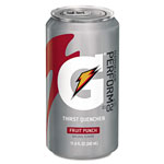 Gatorade Thirst Quencher Can, Fruit Punch, 11.6oz Can, 24/Carton