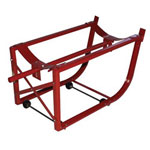 Milwaukee Hand Trucks Drum Cradle w/ Wheels