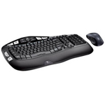 Logitech Wireless Wave Combo MK550 Keyboard , Mouse