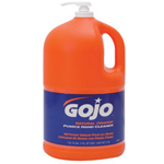 Gojo 1-gal w/Pump Natural Orange Lotion w/Pumice Hand