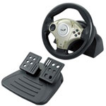 Genius TwinWheel F1 - Wheel And Pedals Set