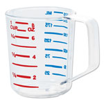 Rubbermaid Bouncer Measuring Cup, 8oz, Clear