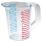 Rubbermaid Bouncer Measuring Cup, 16oz, Clear