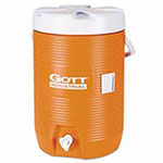 Gott Water Coolers, 3 gal, Orange