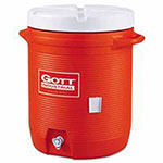 Gott Water Coolers, 5 gal, Orange