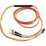 Tripp Lite Mode Conditioning Cable - LC (M) - ST (M) - 3.3' - Fiber Optic - (IEEE 802.3z) - Yellow, Orange