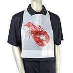 Royal   Plastic Lobster Bib, Case of 500
