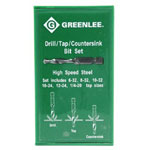Greenlee 17620 Drill Tap Kit