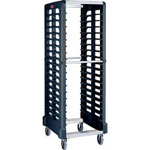 "Rubbermaid Black Max System End Loading Rack, 19 3/4"" Opening"