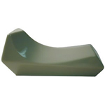 Softalk Mini Shoulder Rest Pearl, Gray