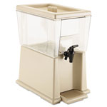Rubbermaid Clear Three Gallon Non Carbonated Beverage Dispenser 3 Gallon