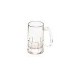 Rubbermaid Clear Carb X Mug 12 Ounce