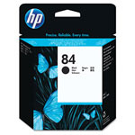HP 84 Black Ink Cartridge ,Model C5019A ,Page Yield 1100