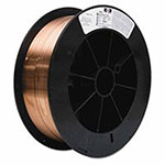 J.W. Harris Copper-Silicon Alloy, .035in, 30 lbs, Spool, SIB 035X30# SP SILICON BRONZE