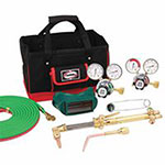 J.W. Harris Steelworker Kits, 8525-510 DLX, Regulators, Goggles, Striker, Hose, Tool Bag