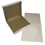 "BOXit White Pizza Box, 10"" x 10"" x 2"""