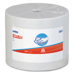 WypAll* X50 Cloths, Jumbo Roll, 9 4/5 x 13 2/5, White, 1100/Roll
