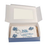 "BOXit Windowed Bakery Box, 8"" x 5.75"" x 2.5"""