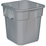 Rubbermaid Gray Square Brute Container 22 Gallon