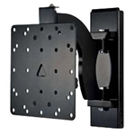 "Sanus Systems Sanus VisionMount MF110-B1 - Mounting Kit (Wall Mount) For Flat Panel - Steel, Extruded Aluminum - Black - Screen Size: 15"" - 40"""