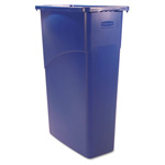 Rubbermaid Indoor Trash Container, 23 GAL, Brown
