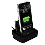 Acco Charging Dock With Mini Battery Pack For iPhone And iPod - Digital Player / Phone Charging Stand + Battery