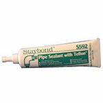 Staybond Pipe Sealant with Teflon, 50 mL Tube, White