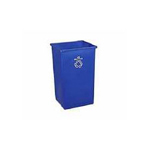 Rubbermaid Blue Square Station Recycle Container