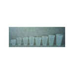 Dart Container 3.5 Oz Cold Plastic Cups, Clear, Pack of 2500