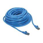 Belkin High Performance - Patch Cable - RJ45 (M) - RJ45 (M) - 50' - UTP - (CAT 6) - Blue