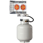 HeatStar Portable Propane Radiant Heaters, 20,000 Btu/h, 15 h