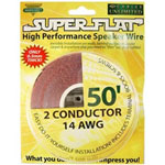 Cables Unlimited 50' Superflat Speaker Cable