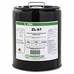 Magnaflux Zyglo ZL-67 Water Washable Fluorescent Penetrants, Liquid, Pail, 5 gal