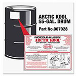 Weld-Aid Arctic Kool Anti-Spatters, 55 Gallon, Blue