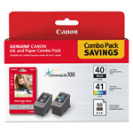 "Canon Ink And Paper Combo Pack - Ink Tank / Paper Kit - 3.95"" x 5.9 In"