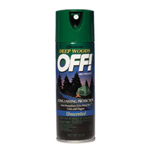 Raid Deep Woods OFF ! Aerosol with 25% DEET, 6 Ounces