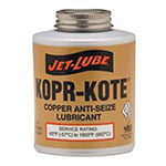 Jet-Lube High Temperature Anti-Seize & Gasket Compounds, 2 lb Brush Top Can